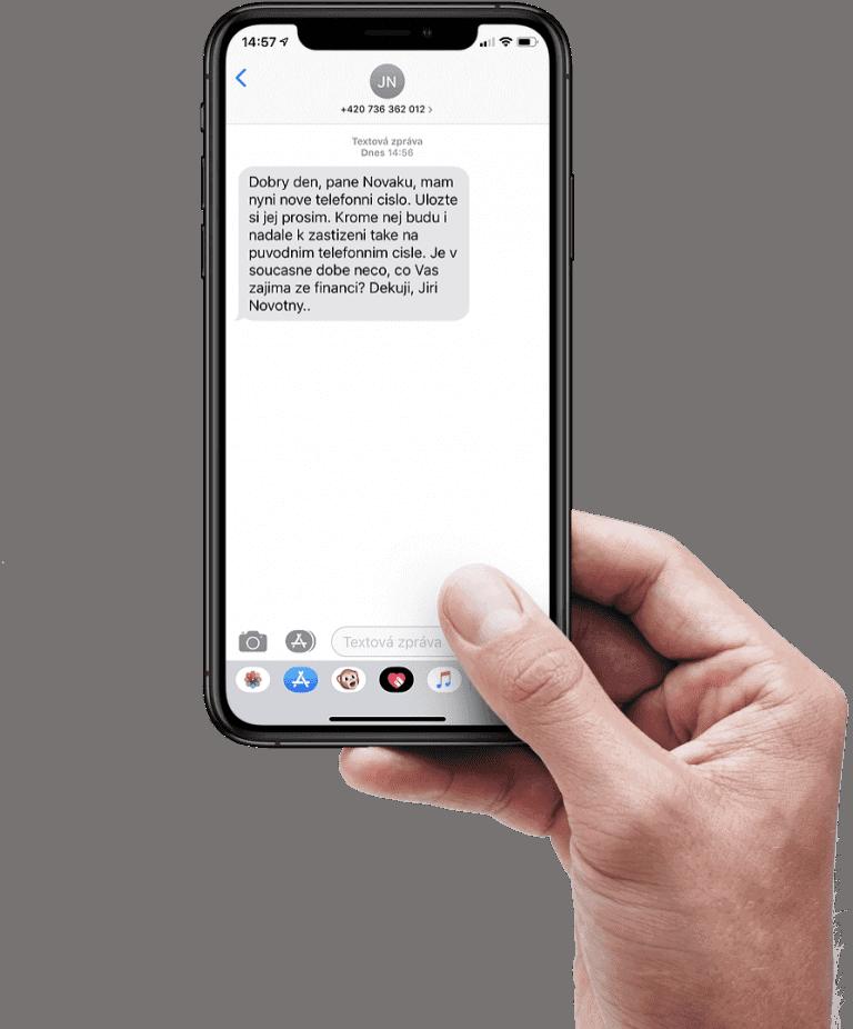 SMS braza spravy