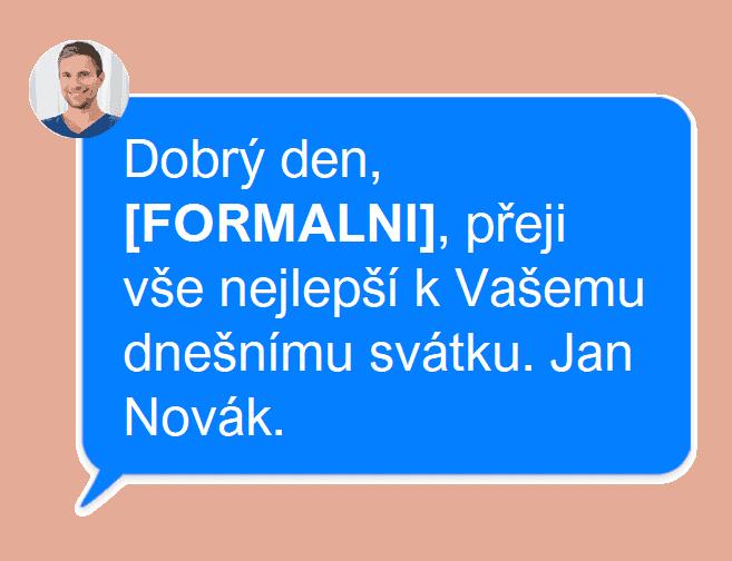 Svatek SMS