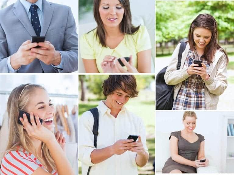 mobilni telephone SMS