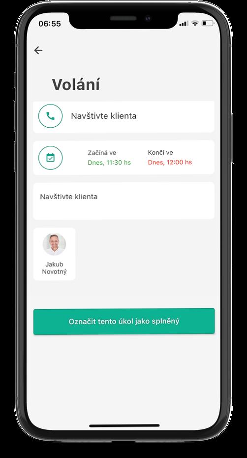 Lead Agent CRM mobilni aplikace