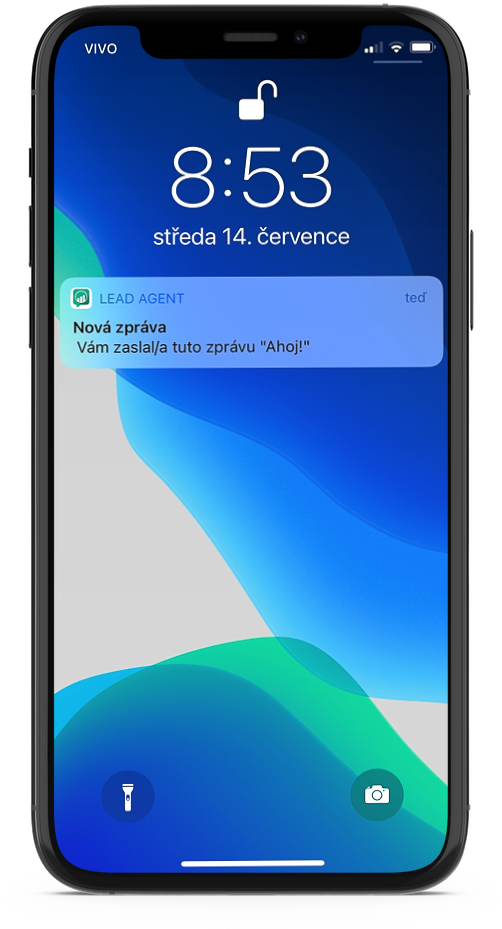 Notifikace mobilni aplikace